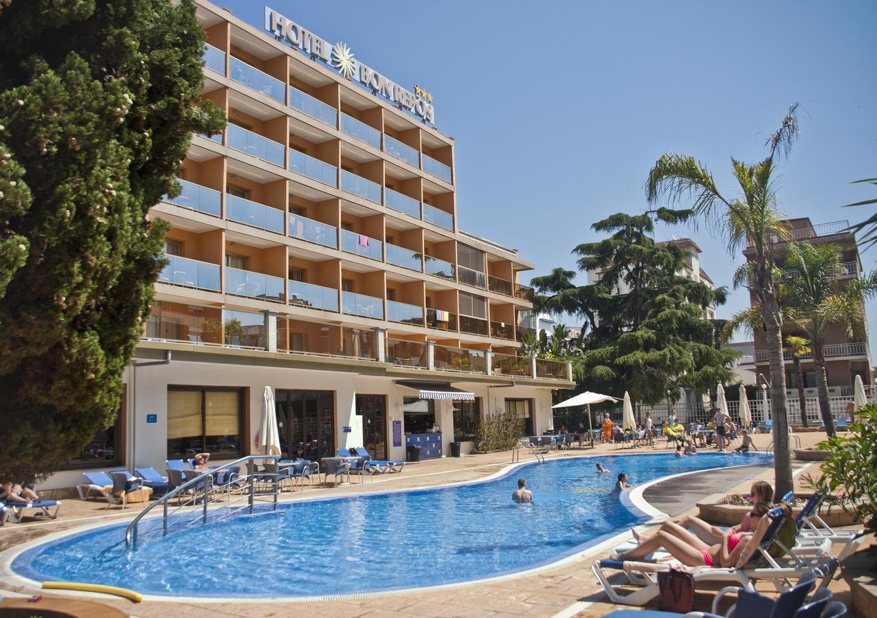 Bon Repos Hotel in Calella, Costa Brava, Spain