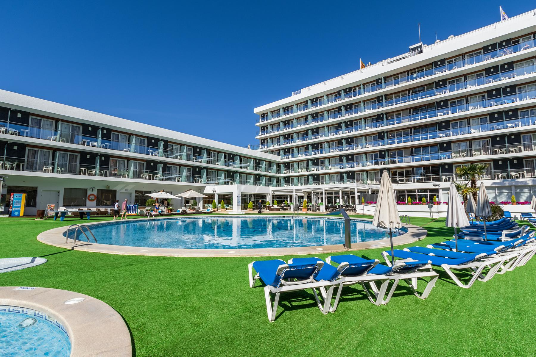 Anabel Hotel in Lloret de Mar, Costa Brava, Spain