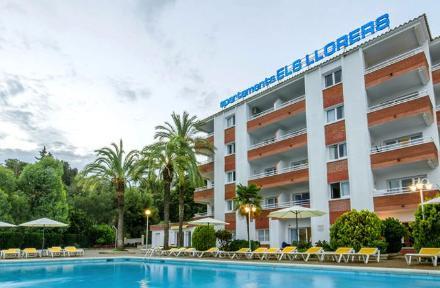 Els Llorers Apartments in Lloret de Mar, Costa Brava, Spain