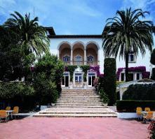 Roger de Flor Palace in Lloret de Mar, Costa Brava, Spain