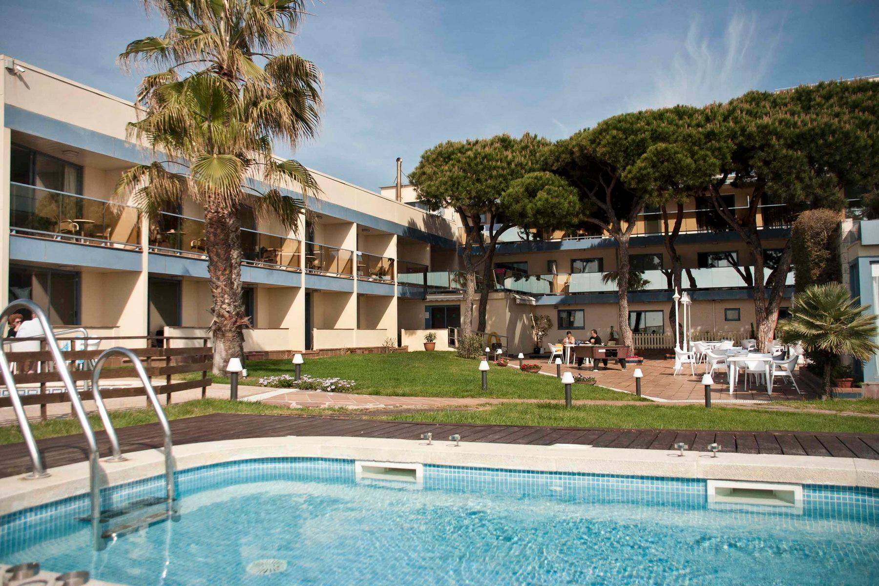 Amaraigua Hotel in Malgrat de Mar, Costa Brava, Spain