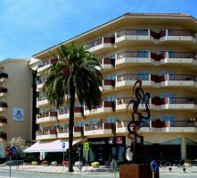 Aqua Hotel Promenade in Pineda de Mar, Costa Brava, Spain