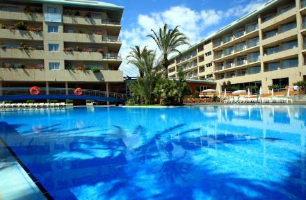 Aqua Hotel Onabrava & Spa in Santa Susanna, Costa Brava, Spain