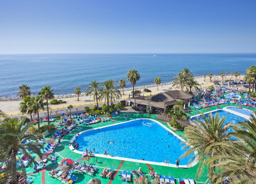 Sunset Beach Club Hotel in Benalmadena, Costa del Sol, Spain