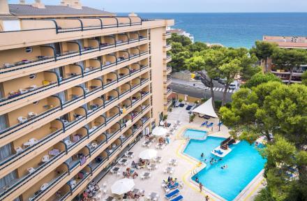 4R Playa Park in Salou, Costa Dorada, Spain