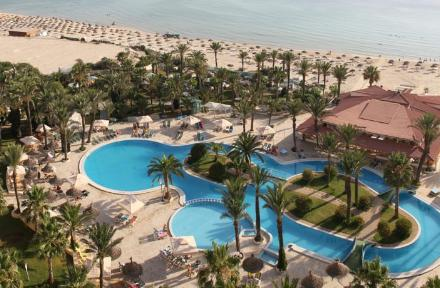 Riadh Palms in Sousse, Tunisia