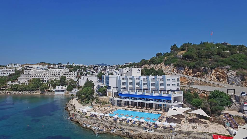 Mavi Hotel in Bodrum, Aegean Coast, Turkey