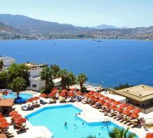 Green Beach Resort Hotel in Gundogan, Aegean Coast, Turkey