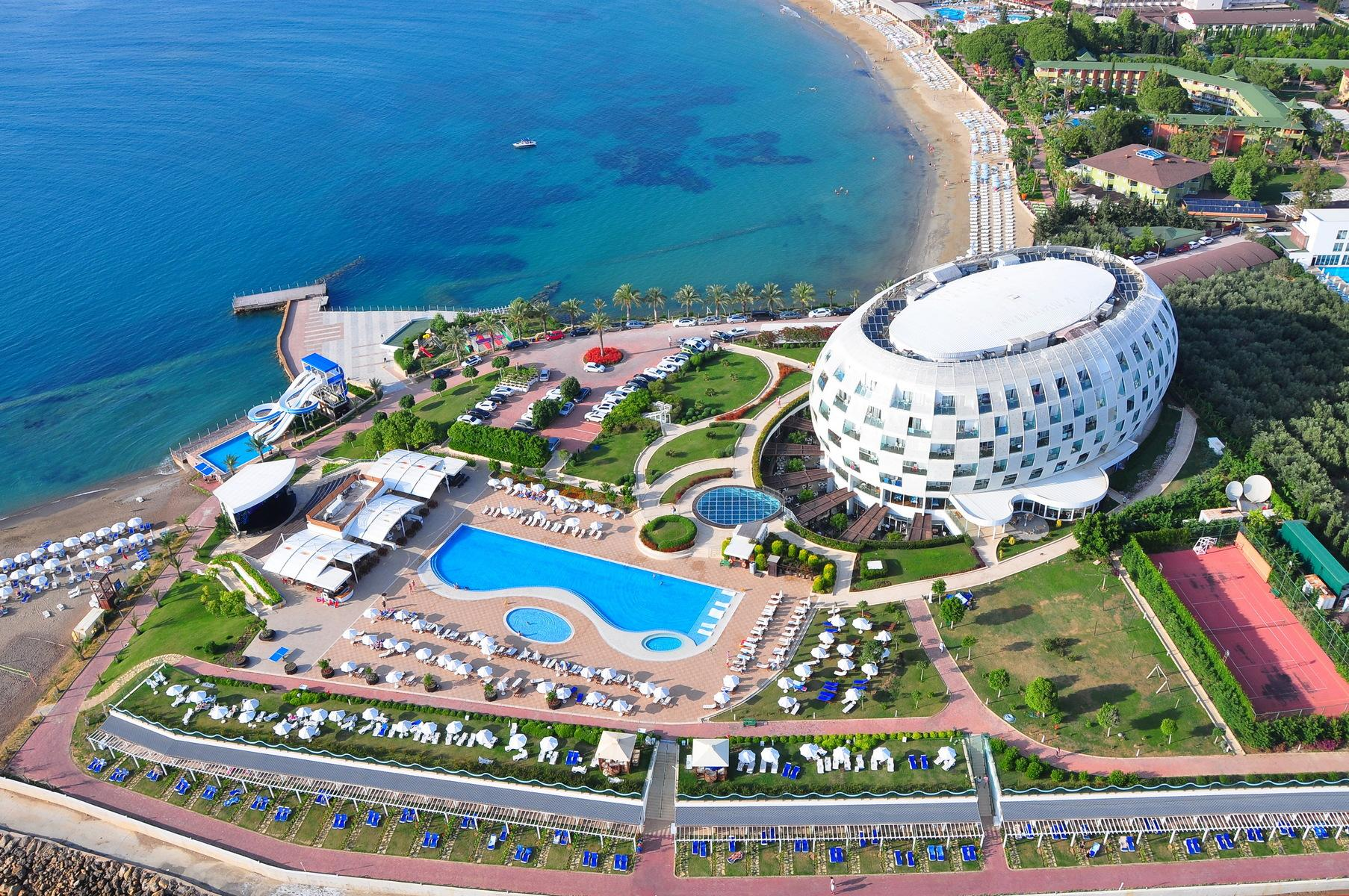 Gold Island Hotel in Alanya, Antalya, Turkey