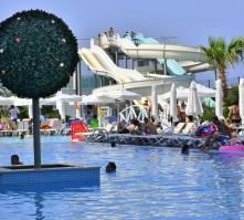 White City Resort Hotel in Alanya, Antalya, Turkey