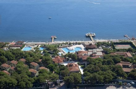 Crystal Flora Beach Resort in Kemer, Antalya, Turkey