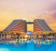 Miracle Resort in Lara Beach, Antalya, Turkey