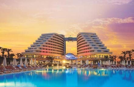 Miracle Resort in Lara Beach, Antalya, Turkey