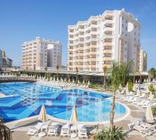 Ramada Resort Hotel in Lara Beach, Antalya, Turkey