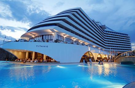Titanic Beach Lara in Lara Beach, Antalya, Turkey