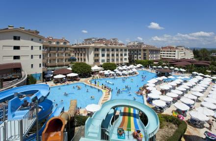 Grand Seker Hotel in Side, Antalya, Turkey