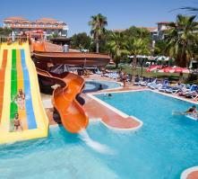 Seher Sun Beach Hotel in Side, Antalya, Turkey