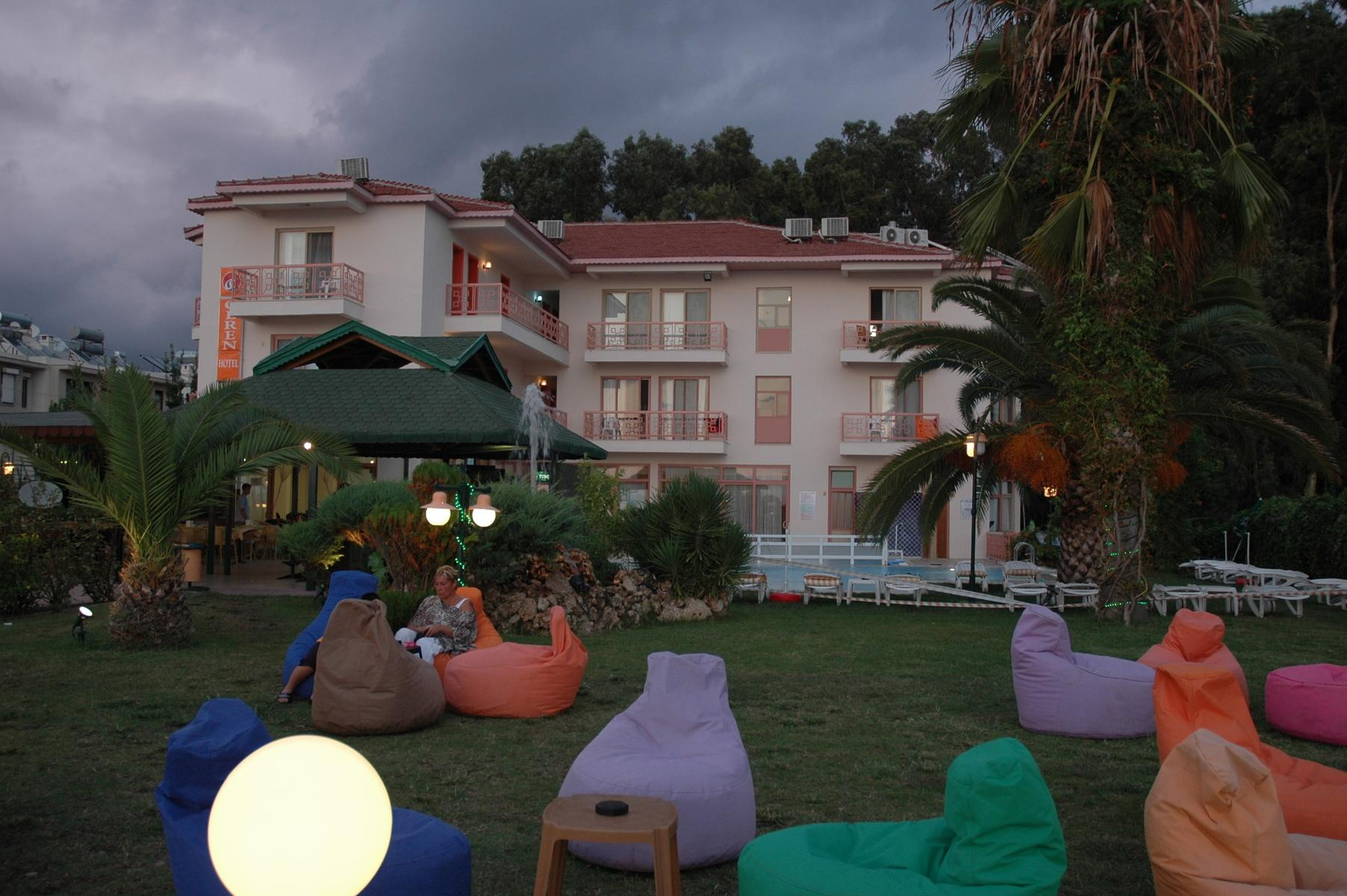 Ceren Hotel in Calis Beach, Dalaman, Turkey