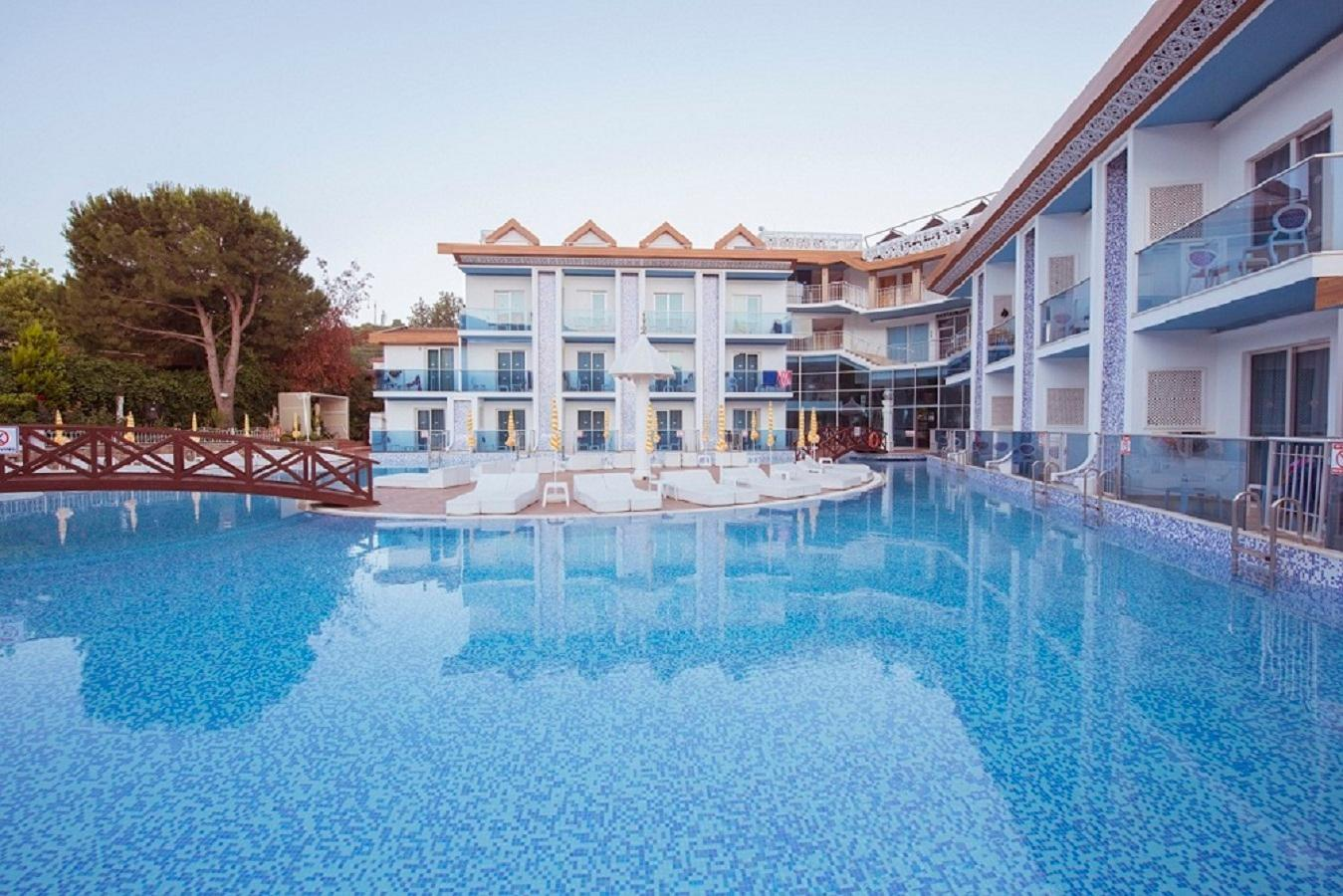 Ocean Blue High Class Hotel in Hisaronu, Dalaman, Turkey