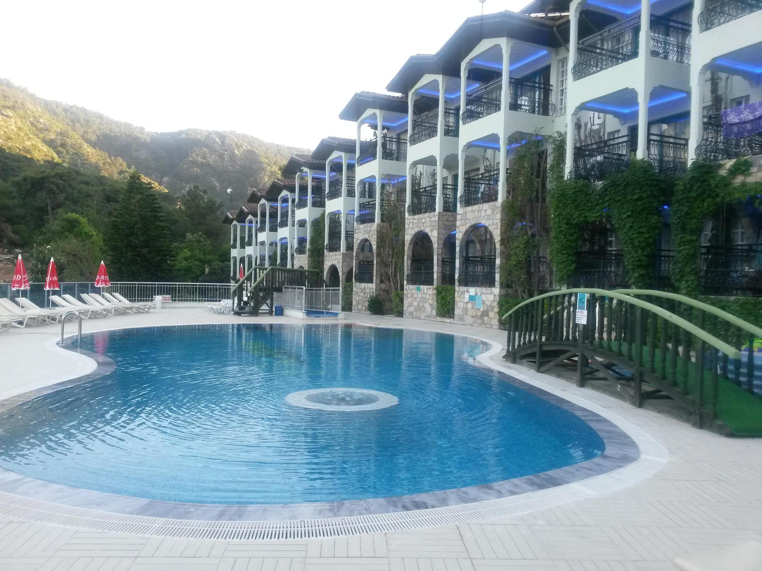 Club Aquarium Apartments in Icmeler, Dalaman, Turkey