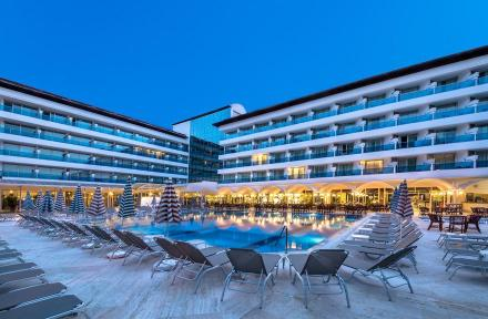 Letoile Hotel in Icmeler, Dalaman, Turkey