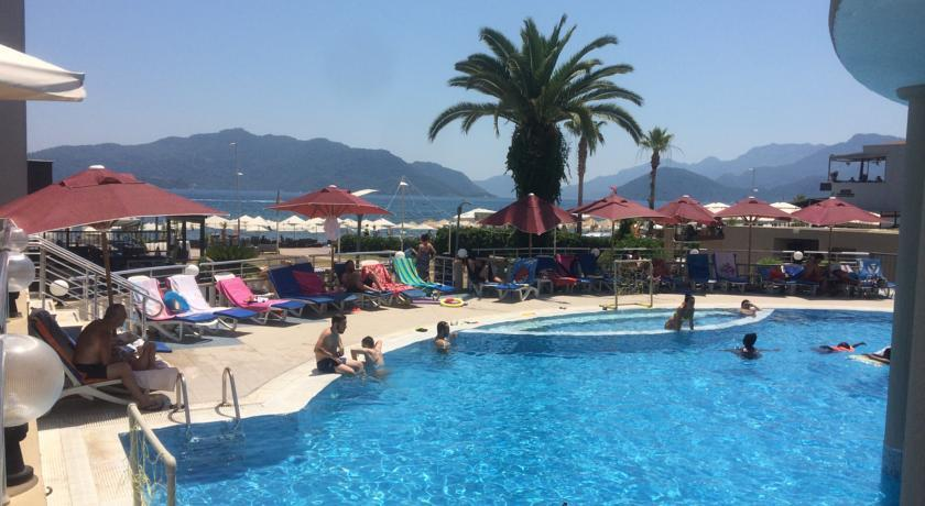 Orka Club Nergis Beach in Marmaris, Dalaman, Turkey
