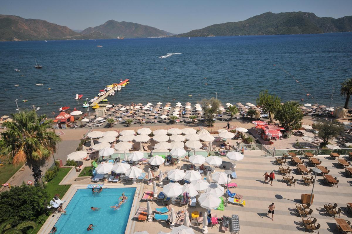 Pasa Beach Hotel in Marmaris, Dalaman, Turkey