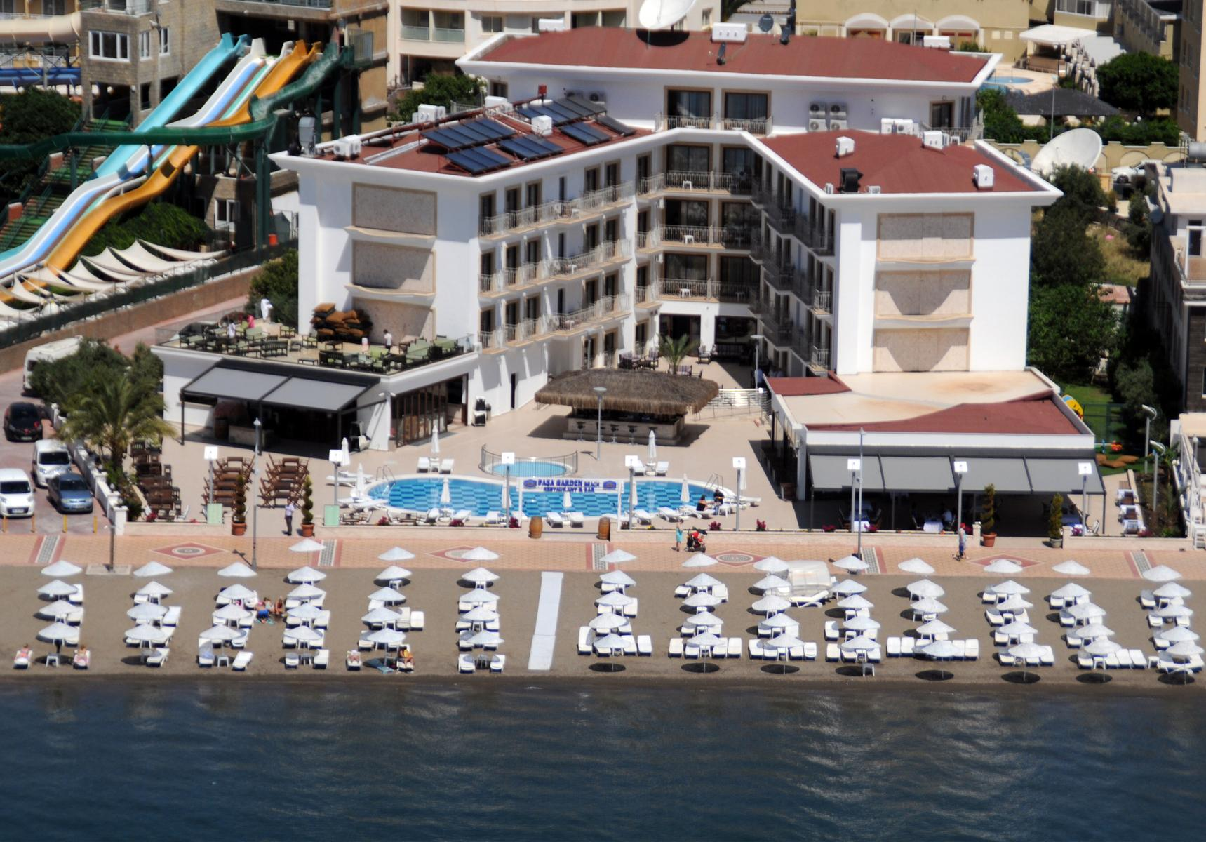 Pasa Garden Beach Hotel in Marmaris, Dalaman, Turkey