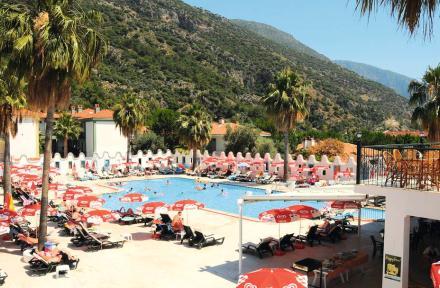 Karbel Hotel in Olu Deniz, Dalaman, Turkey