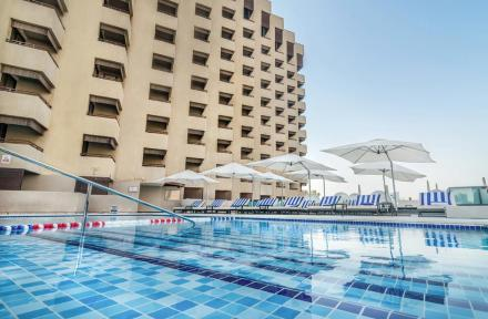 Radisson Blu Hotel Dubai Deira Creek in Dubai City, Dubai, United Arab Emirates