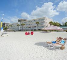 Sandcastle Resort At Lido Beach in Sarasota, Florida, USA
