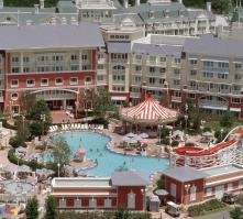 Disney's Boardwalk Inn in Walt Disney World, Florida, USA