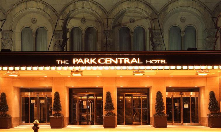 Hotel Park Central in New York, New York, USA