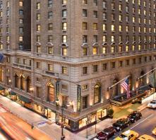 Roosevelt Hotel in New York, New York, USA