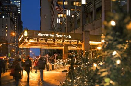 Sheraton New York Times Square Hotel in New York, New York, USA