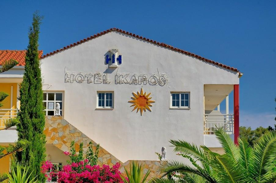 Ikaros Hotel in Laganas, Zante, Greek Islands