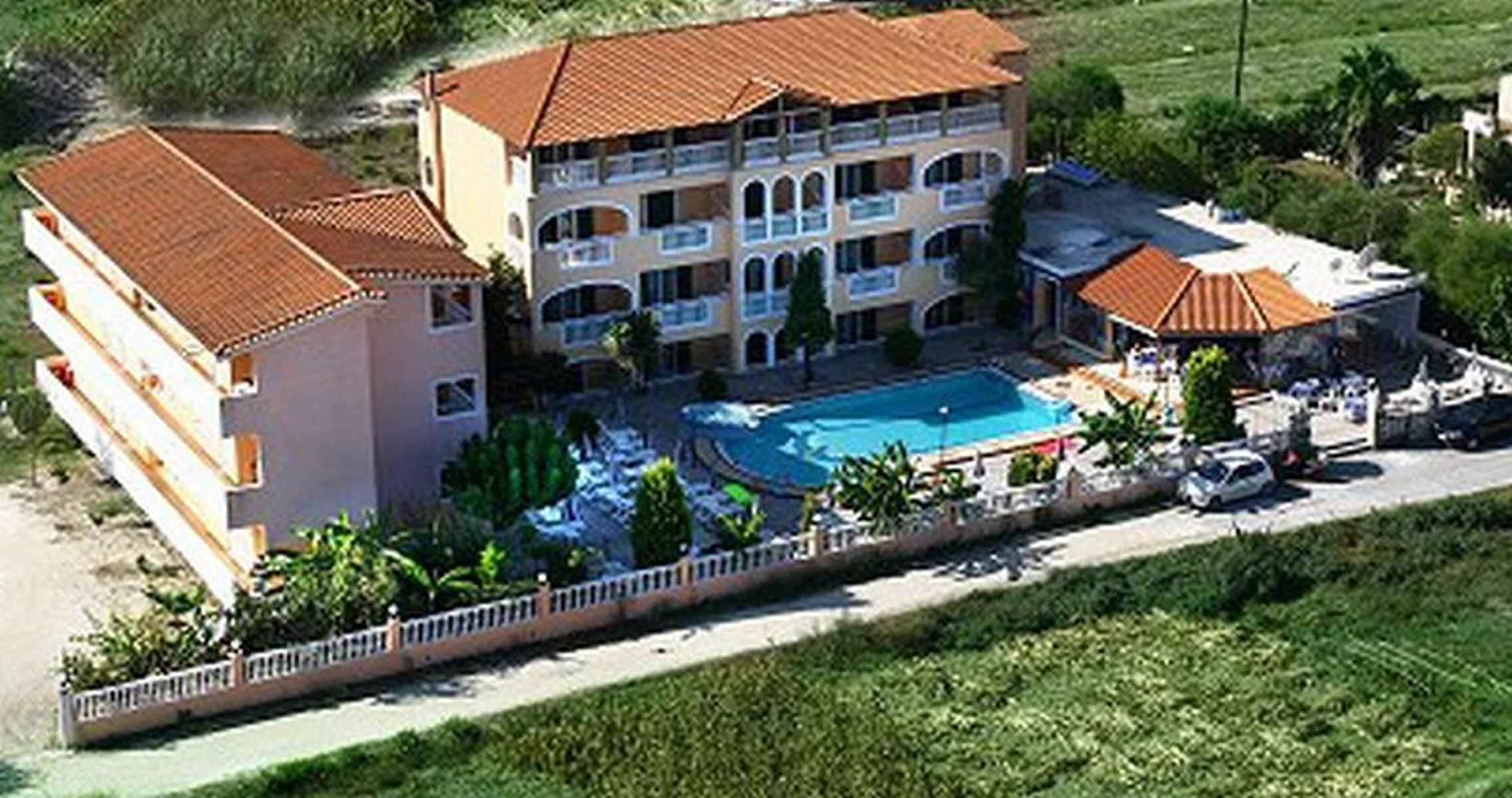 Sandy Maria Hotel in Tsilivi, Zante, Greek Islands