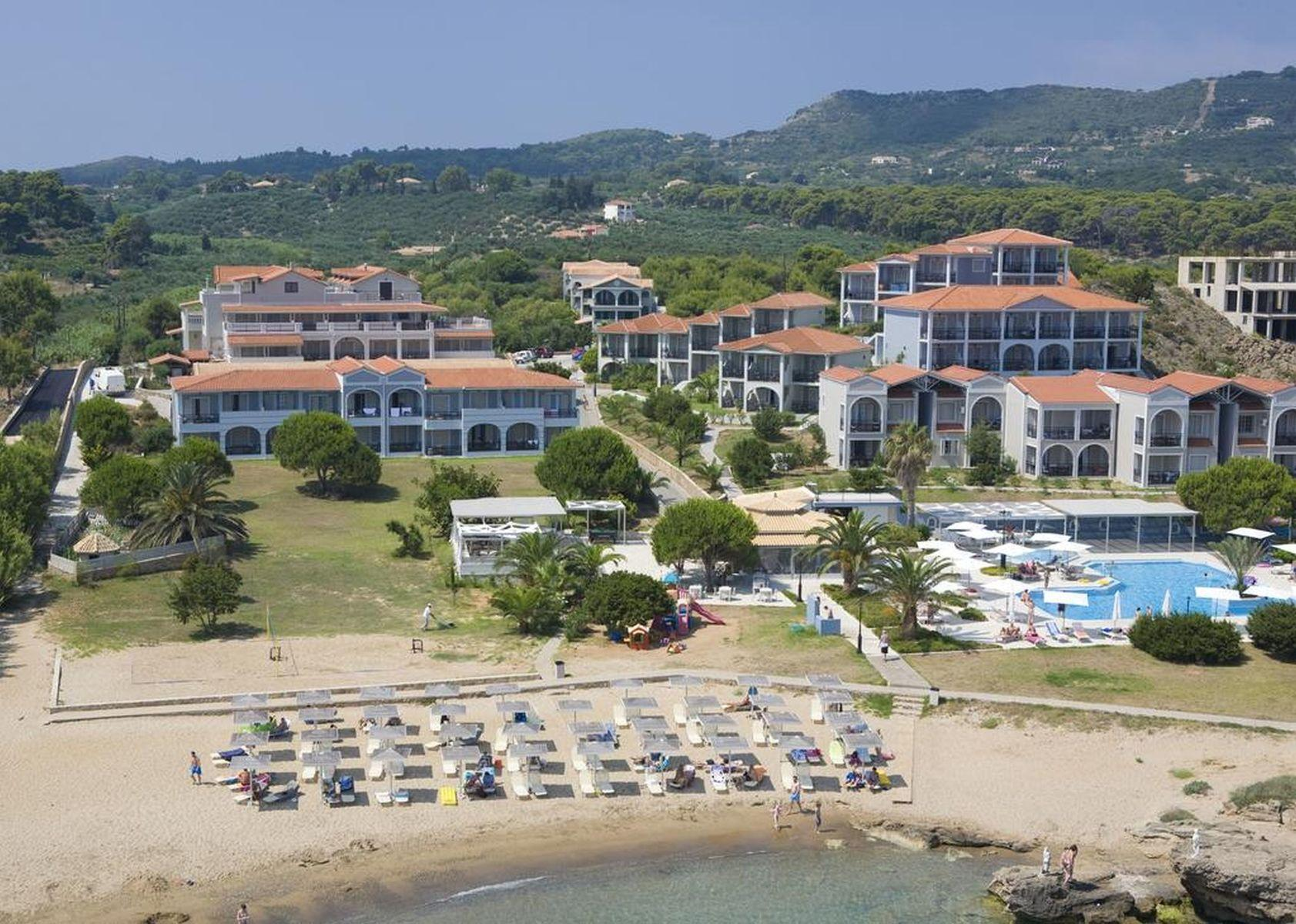 The Bay Hotel and Suites in Vassilikos, Zante, Greek Islands