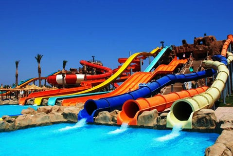 Aqua Blu Sharm Is Egypt S Top Answer For The Ultimate Family Waterpark Holiday Hotel Offers Some Lavishing 4 Star