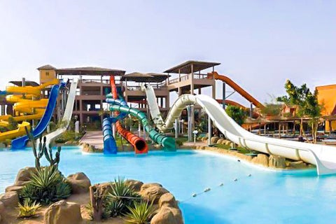Jungle Aqua Park Hotel Is Situated By The Gorgeous Red Sea Combining Convenience Of A Sandy Private Beach With Excitement Huge Waterpark