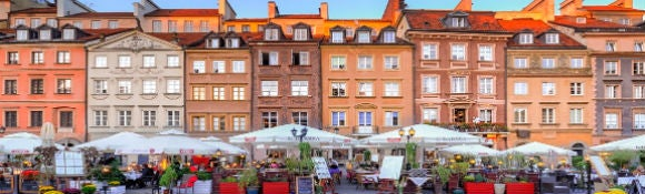 Top attractions in Warsaw